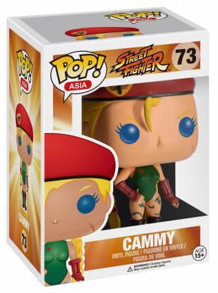 Funko Pop! Asia Cammy Stock