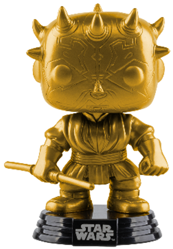Funko Pop! Star Wars Darth Maul (Gold Metallic)