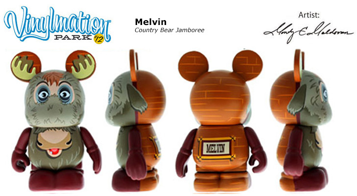 Vinylmation Open And Misc Park 12 Melvin
