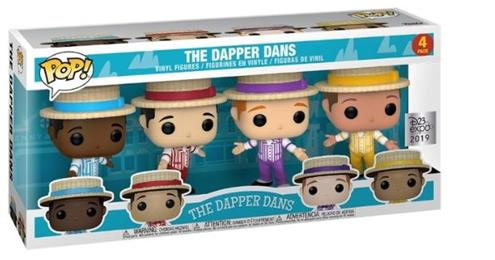 Funko Pop! Disney The Dapper Dans (4-Pack) Stock