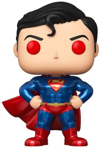 Funko Pop! Heroes Superman (10 Inch) (Chase) (Metallic)