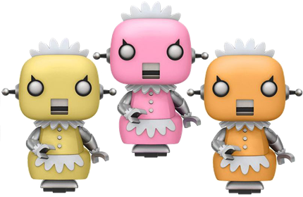 Funko Pop! Animation Rosie the Robot (3-Pack) Icon