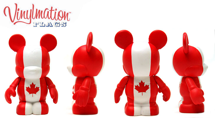 Vinylmation Open And Misc Flags Canada
