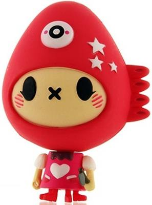Kid Robot Blind Boxes Cannibal Funfair Red Maud