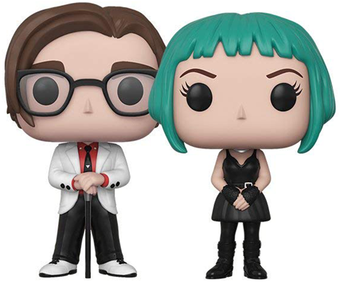 Funko Pop! Movies Gideon Graves & Ramona Flowers Icon