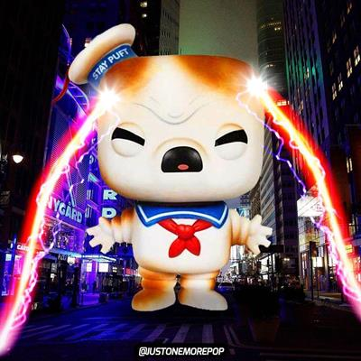 Funko Pop! Movies Stay Puft Marshmallow Man (Toasted) justonemorepop on instagram.com