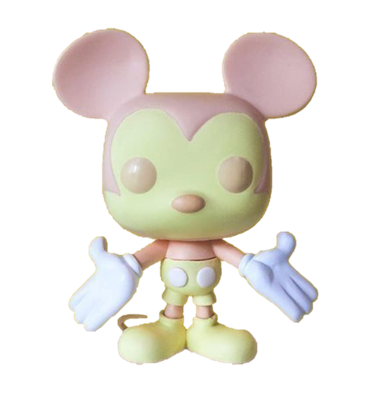 Funko Pop! Disney Mickey Mouse (Colorway - Peach/Cream)
