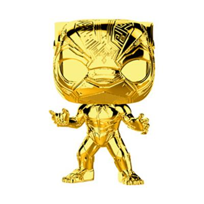 Funko Pop! Marvel Black Panther (Gold Chrome)