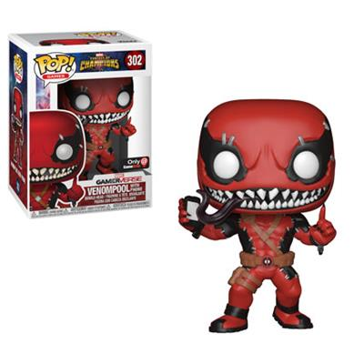 Funko Pop! Games Venompool w/ Phone Stock