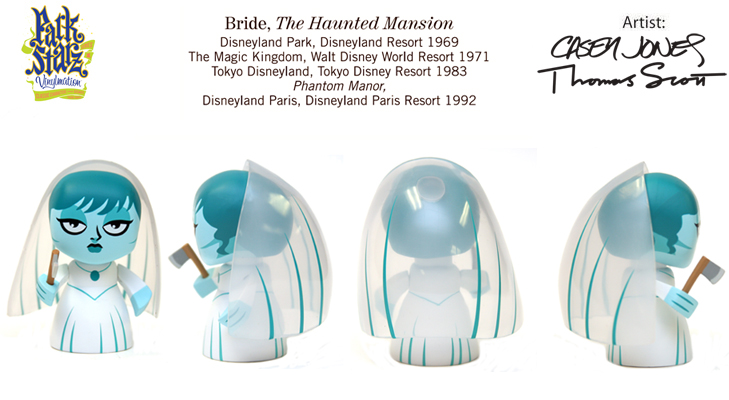 Vinylmation Open And Misc Park Starz 1 Haunted Mansion Bride