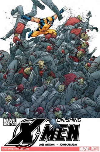 Marvel Comics Astonishing X-Men (2004 - 2013) Astonishing X-Men (2004) #23