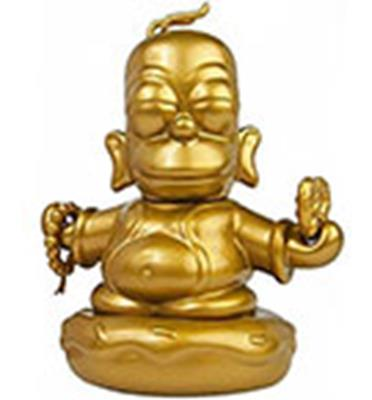 Kid Robot Simpsons x Kidrobot Buddha Homer (Gold)