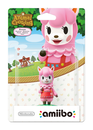 Amiibo Animal Crossing: amiibo Festival Reese Stock