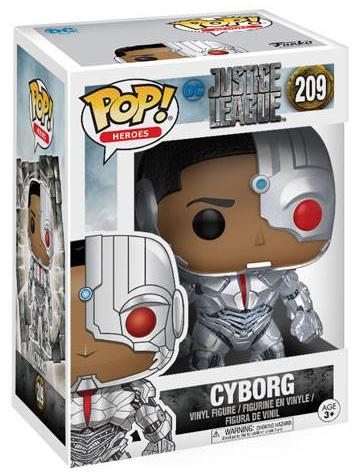 Funko Pop! Heroes Cyborg Stock