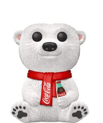 Funko Pop! Ad Icons Coca- Cola Polar Bear (Flocked)