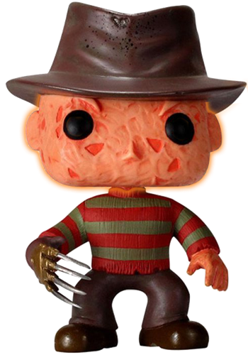 Funko Pop! Movies Freddy Krueger (Glow) - CHASE