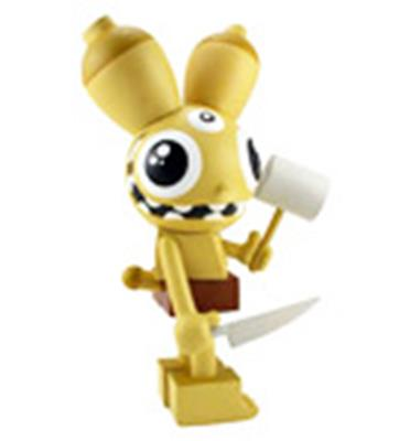 Kid Robot Art Figures Space Monkey: Yellow