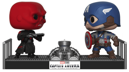 Funko Pop! Marvel Red Skull v. Captain America