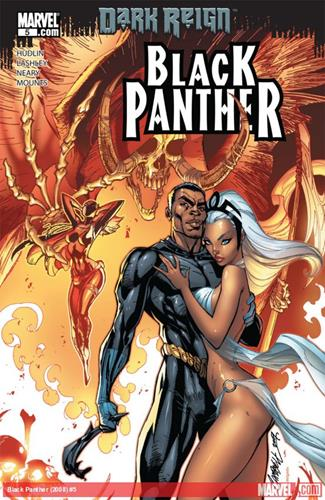 Marvel Comics Black Panther (2008 - 2010) Black Panther (2008) #5 Stock Thumb