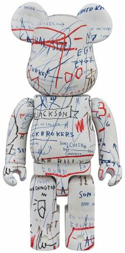 Be@rbrick Misc Jean-Michel Basquiat 2 1000%