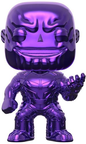 Funko Pop! Marvel Thanos (Purple Chrome)