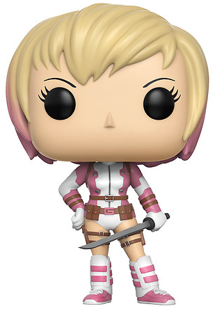 Funko Pop! Marvel Gwenpool (Unmasked) Icon
