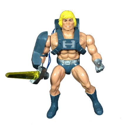 Masters of the Universe 1988 Laser Power He-Man