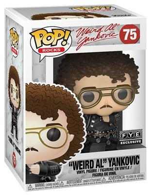 "Funko Pop! Rocks ""Weird Al"" Yankovic (Fat) Stock"