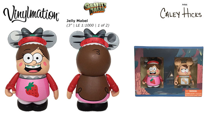 Vinylmation Open And Misc Gravity Falls Jelly Mabel