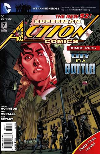 DC Comics Action Comics (2011 - 2016) Action Comics (2011) #7A Icon
