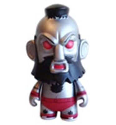 Kid Robot Street Fighter x Kidrobot Mecha Zangief Icon