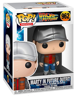 Funko Pop! Movies Marty in Future Outfit Stock Thumb