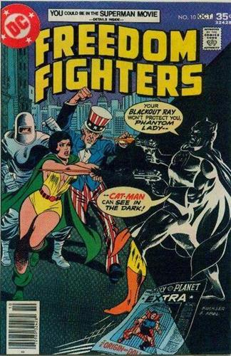DC Comics Freedom Fighters (1976) Freedom Fighters (1976) #10 Stock