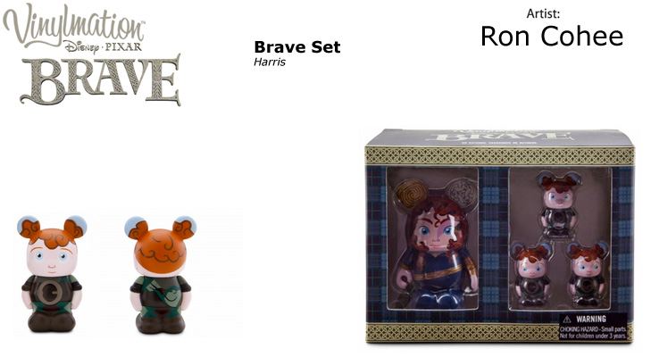 Vinylmation Open And Misc Brave Harris