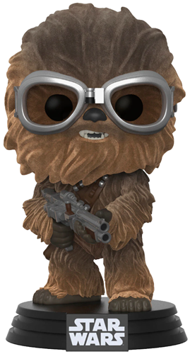 Funko Pop! Star Wars Chewbacca (Solo) - Flocked