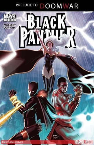 Marvel Comics Black Panther (2008 - 2010) Black Panther (2008) #10 Icon Thumb
