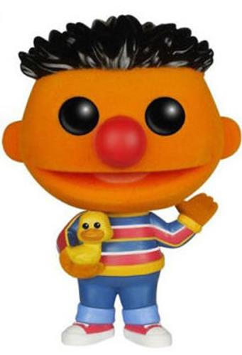 Funko Pop! Sesame Street Ernie (Flocked) Icon