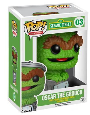 Funko Pop! Sesame Street Oscar the Grouch Stock