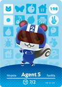 Amiibo Cards Animal Crossing Series 2 Agent S