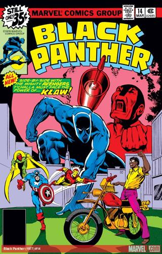 Marvel Comics Black Panther (1977 - 1979) Black Panther (1977) #14