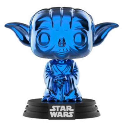 Funko Pop! Star Wars Yoda (Blue Chrome)