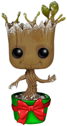 Funko Pop! Marvel Groot (Dancing) - Holiday Metallic