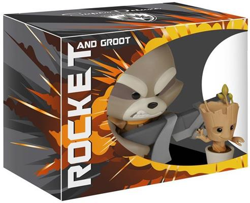 Funko - Other Super Deluxe Rocket & Groot Stock