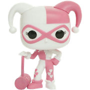 Funko Pop! Heroes Harley Quinn with Mallet (Pink Hearts)