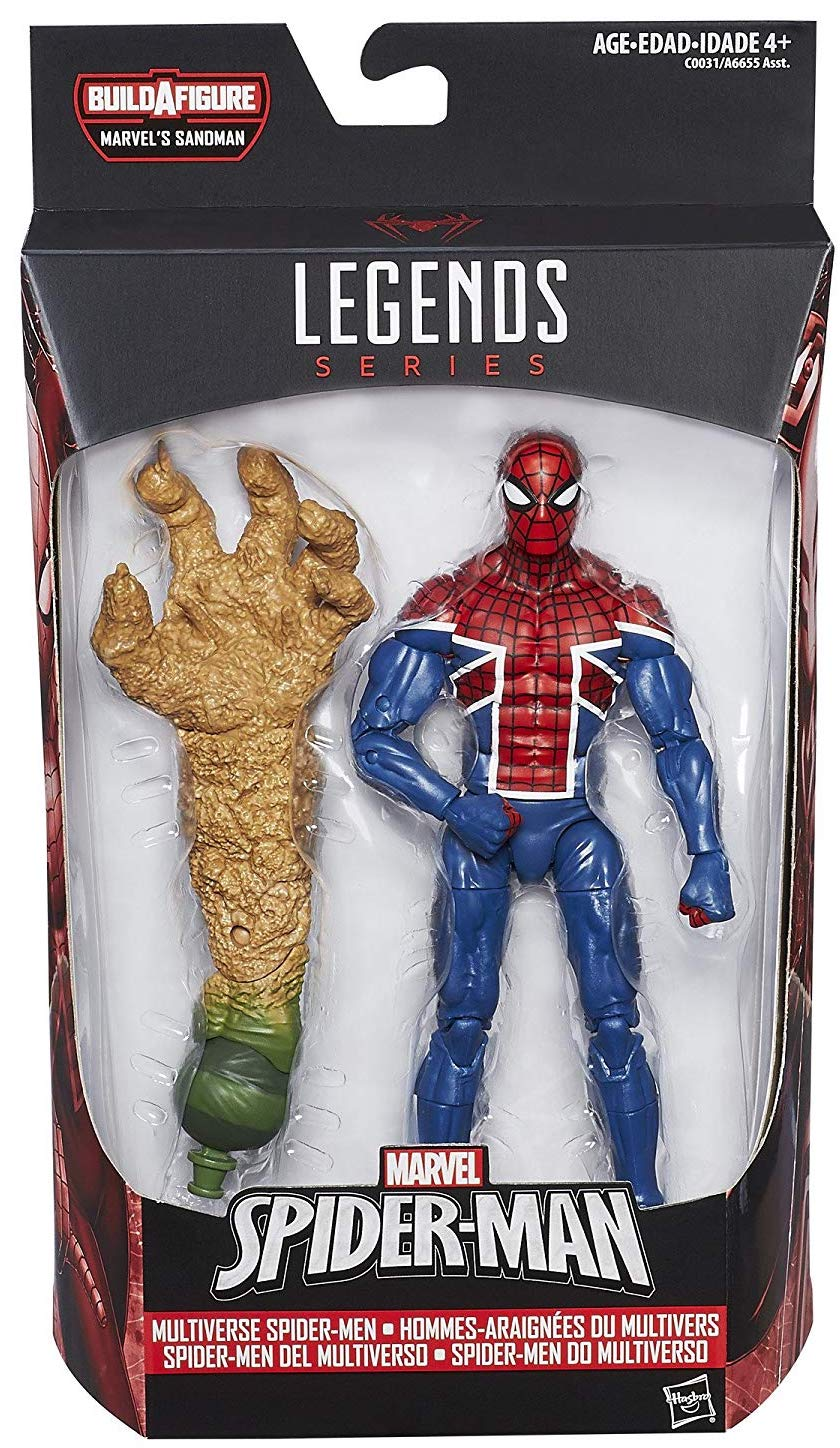 Marvel Legends Sandman Series Spider-UK