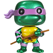 Funko Pop! Television Donatello (Metallic)