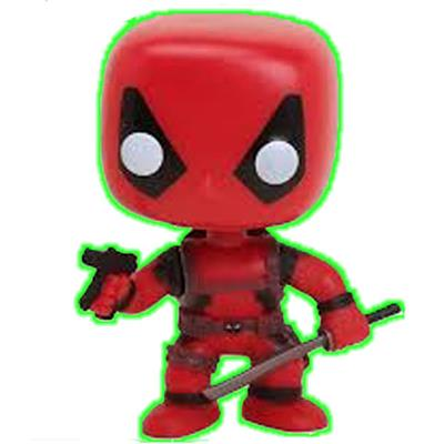 Funko Pop! Marvel Deadpool (Glow in the Dark)