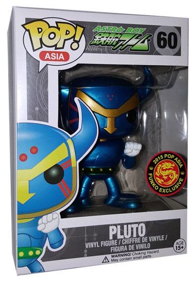Funko Pop! Asia Pluto (Metallic) Stock