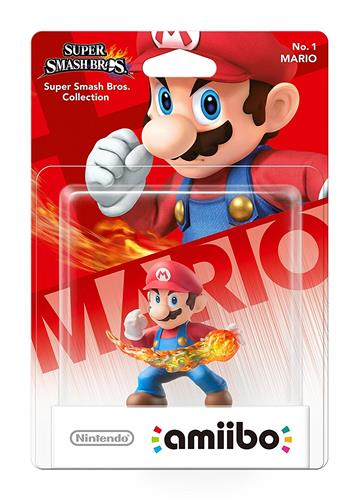 Amiibo Super Smash Bros. Mario Stock