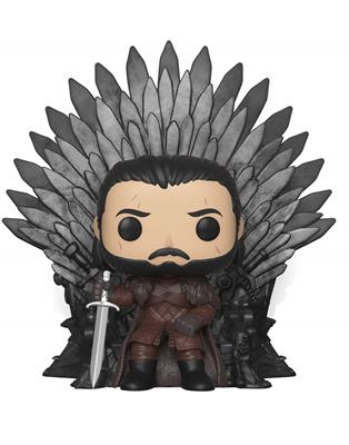 Funko Pop! Game of Thrones Jon Snow Sitting On Iron Throne